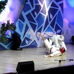 МАСТЕРА ФЕДЕРАЦИИ КОСИКИ КАРАТЭ РОССИИ на главной сцене митинга-концерта НЕТ НАРКОТИКАМ! в мэрии Москвы 01.12.2012г.